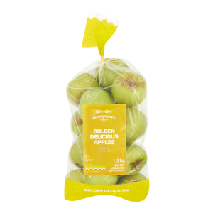 PRODUCE APPLES GOLDEN DELICIOUS 1.5KG