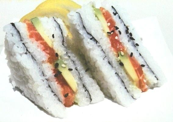 SUSHI TUNA FASHION SANDWICH 4PCE
