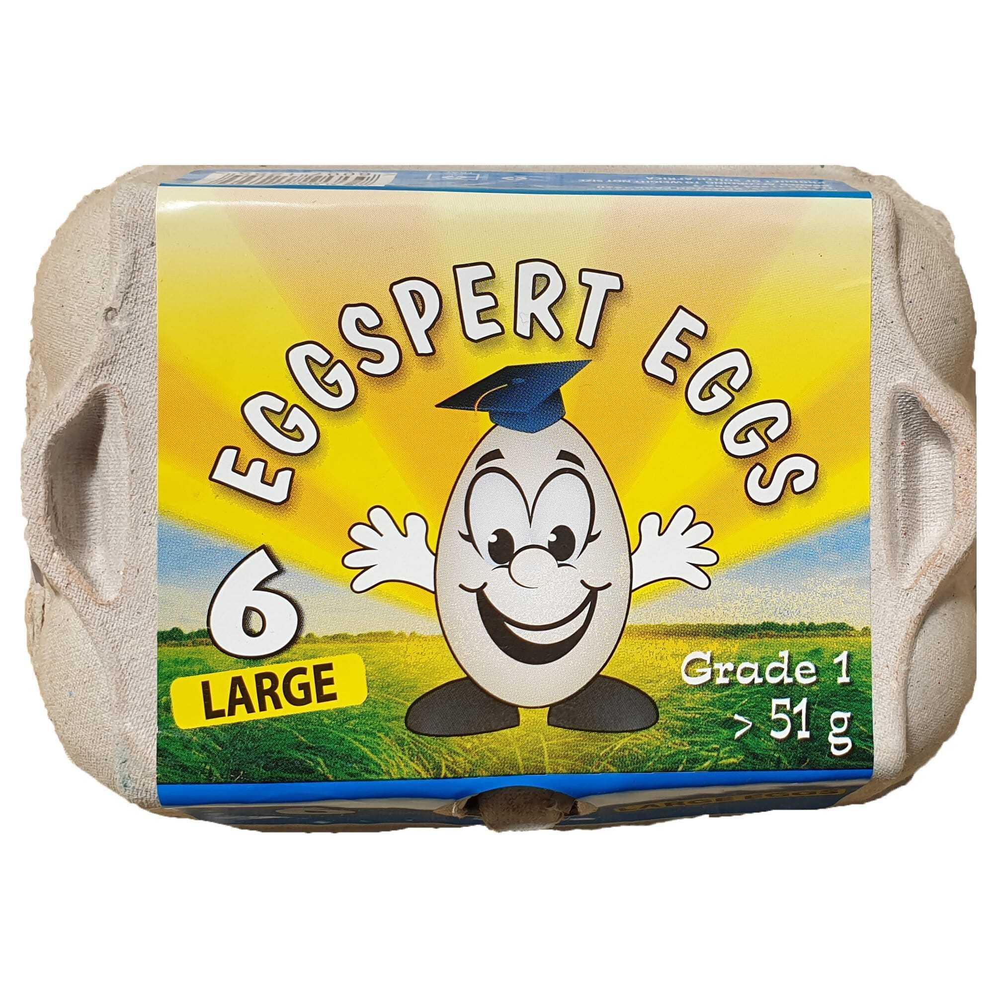 EGGSPERT EGGS LARGE 6EA