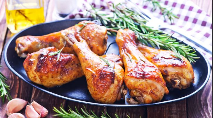 PNP COOKED BBQ CHICKEN PORTIONS PER 100G