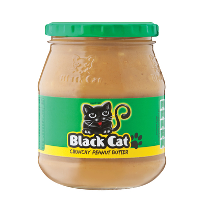 BLACK CAT PBUTTER CRUNCHY SS ADDED 400GR