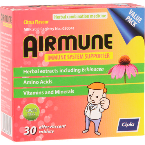 AIRMUNE EFFERVESCENT TABLETS  30EA