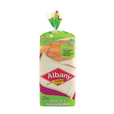 ALBANY SUPERIOR WHITE LOW GI BREAD 700GR