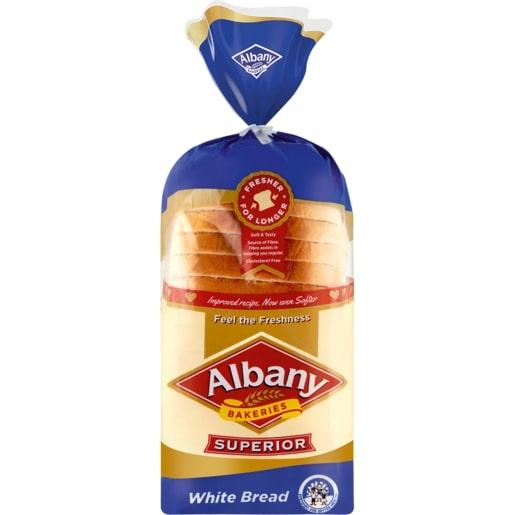 ALBANY SUPERIOR WHITE SLICED BREAD 700GR