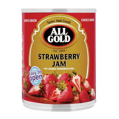 ALL GOLD JAM STRAWBERRY 450GR