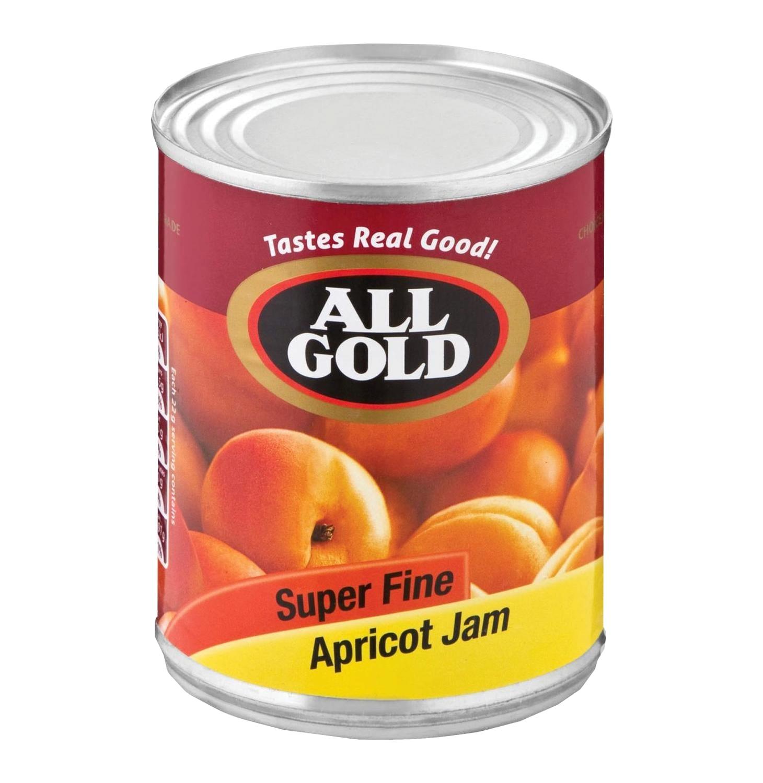 ALL GOLD JAM SUPER FINE APRICOT 900GR