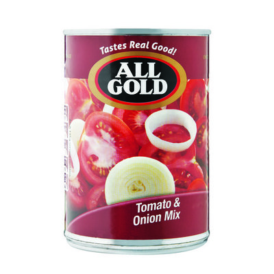 ALL GOLD TOMATO&ONION MIX 410GR
