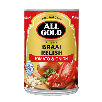 ALL GOLD BRAAI RELISH 410GR