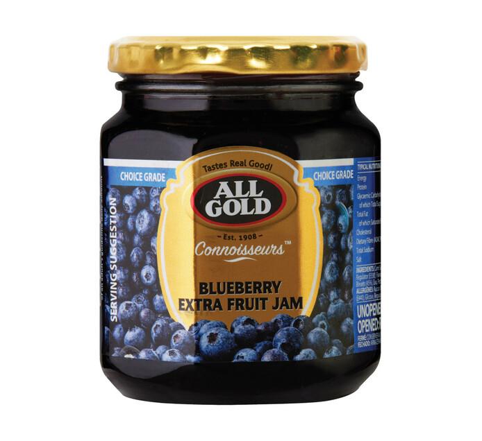 ALL GOLD CONNOISSEURS JAM BLUEBERRY 320G