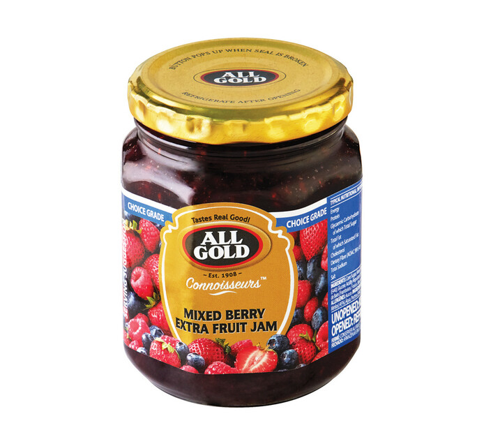 ALL GOLD CONNOISSEURS JAM MIXED BERRIES