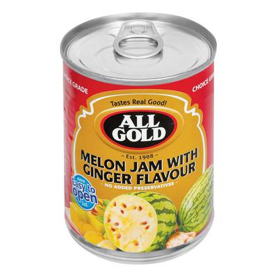 ALL GOLD JAM MELON&GINGER 450GR