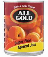 ALL GOLD JAM SUPER FINE APRICOT 450GR