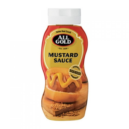 ALL GOLD MUSTARD SQUEEZE SCE 500ML
