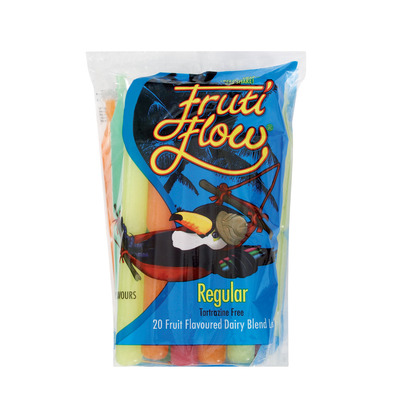 ALPINE FRUITI FLOW LOLLIES  NATURAL 20EA