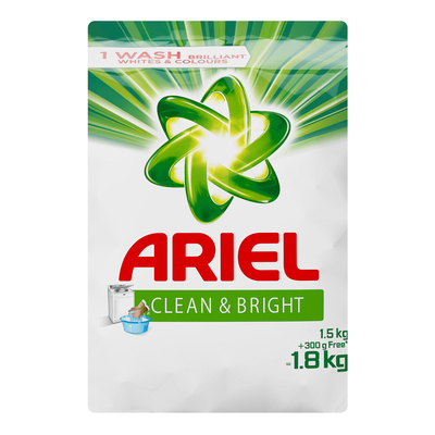 ARIEL LAUNDRY DET HAND WASH PWDR 1.8KG