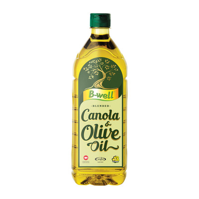 B-WELL OLIVE OIL CANOLA BLEND 1L