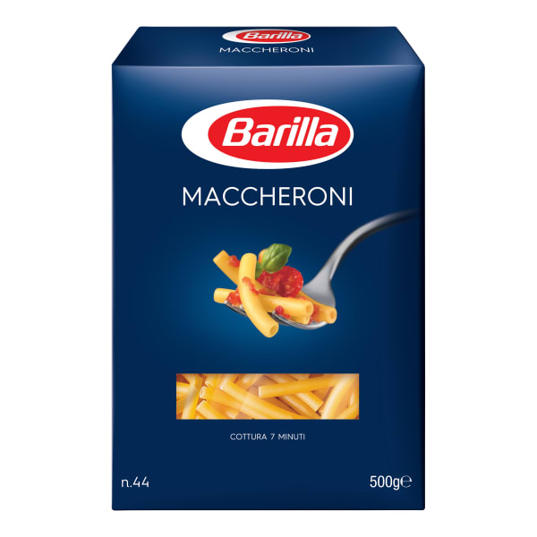 BARILLA PASTA MACCHERONI NO44 500GR