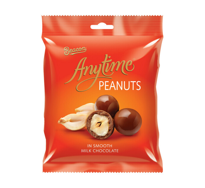 BEACON ANYTIME CHOC COATED PEANUTS 180GR