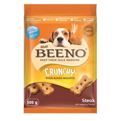 BEENO BISCUITS FOR ALL DOGS STEAK 300GR