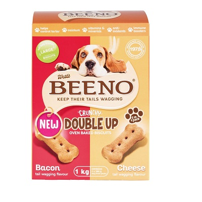 BEENO LARGE BISC DUO BACON & CHEESE 1KG