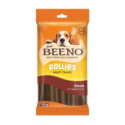 BEENO ROLLIES WITH STEAK 120GR