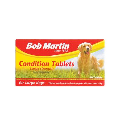 BOB MARTIN COND TABS LRG DOG 50EA