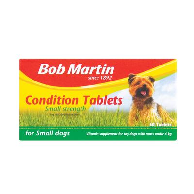 BOB MARTIN COND TABS SML DOG 50EA