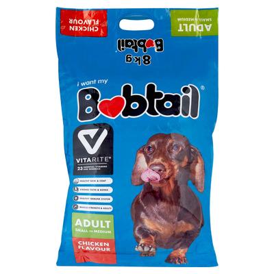 BOBTAIL S M ADULT MIN CHUNKS CHICK 8KG