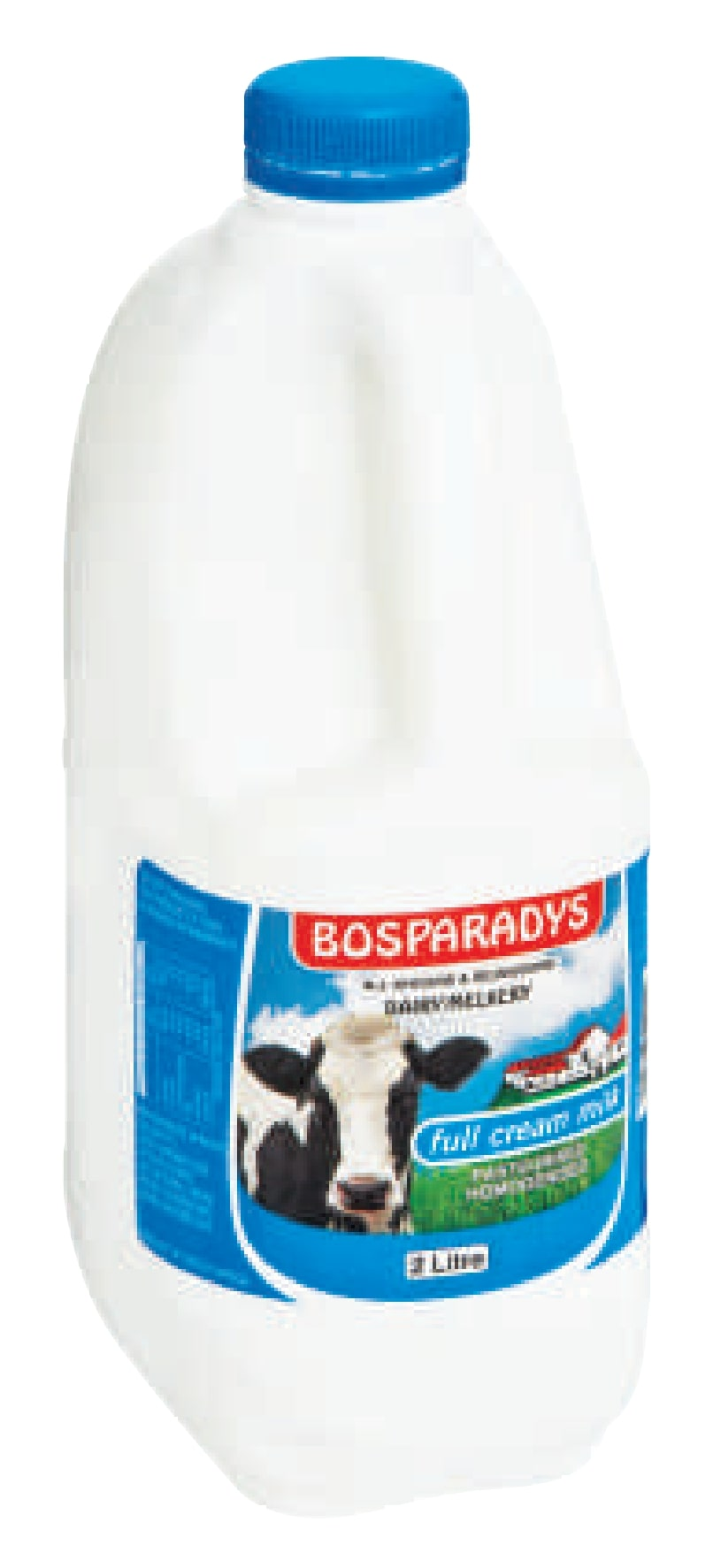 BOSPARADYS MILK FULL CREAM 2L