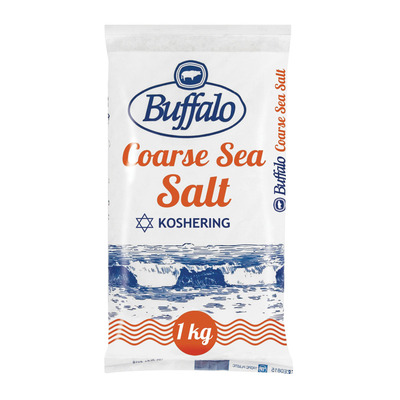 BUFFALO SALT IODATED KOSH CRS 1KG
