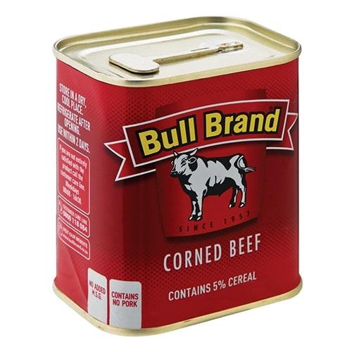 BULL BRAND CORNED MEAT&CEREAL TIN 300GR