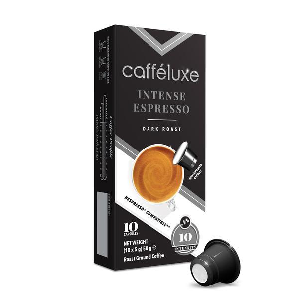 CAFFE LUXE CAPSULES INTENSE ESPRESSO 10EA