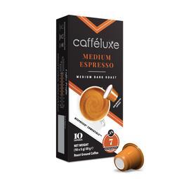 CAFFE LUXE CAPSULES MED ESPRESS 10EA