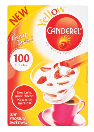 CANDEREL YELLOW STICK SACHET 100EA