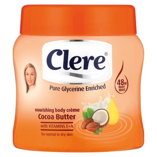CLERE BODY CREME COCOA BUTTER 500ML