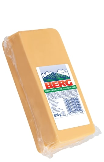 CLOVER BERG CHEESE PROCESSED BLOCK 800GR