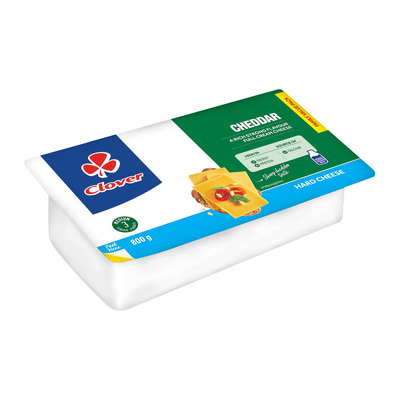 CLOVER CHEESE CHEDDAR 800GR