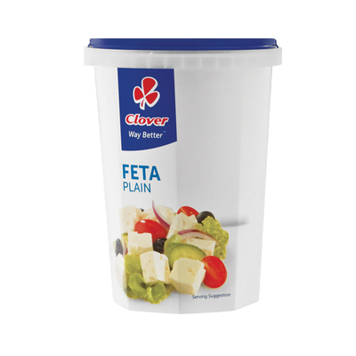 CLOVER FETA PLAIN TRADITIONAL 400GR
