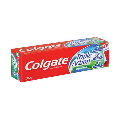 COLGATE A/CAV TOOTHPASTE TRPLE ACT 100ML