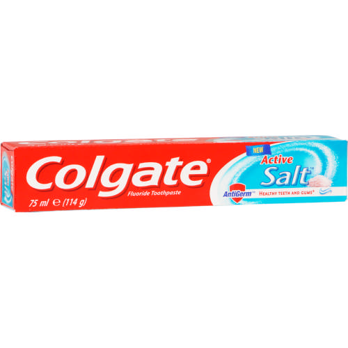 COLGATE TOOTHPASTE ACTIVE SALT 75ML