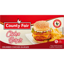 COUNTY FAIR CHICKEN BURGER 400GR