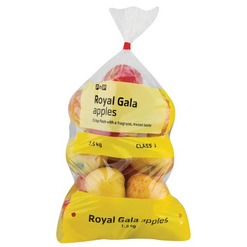 PRODUCE APPLES ROYAL GALA 1.5KG