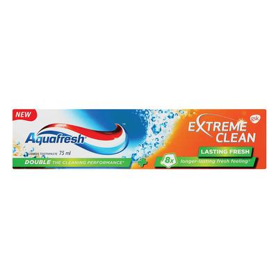 AQUAFRESH T/P EX CLEAN LASTING FRSH 75ML