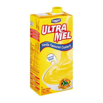 DANONE ULTRA MEL CUSTARD VANILLA 1L