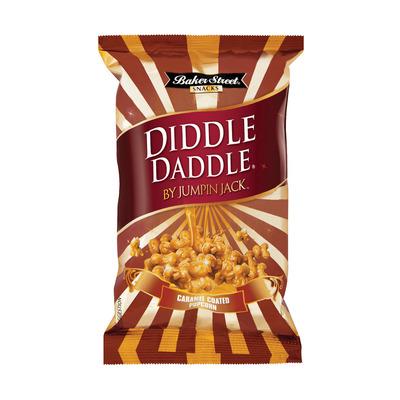 DIDDLE DADDLE G/CARAMEL CLUST POPC 150GR