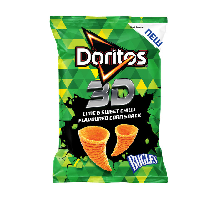 DORITOS 3D BUGLE LIME&S/CHIL 100GR
