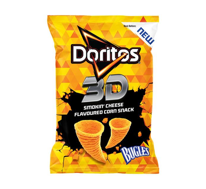 DORITOS 3D BUGLES SMOKED CHEESE 100GR