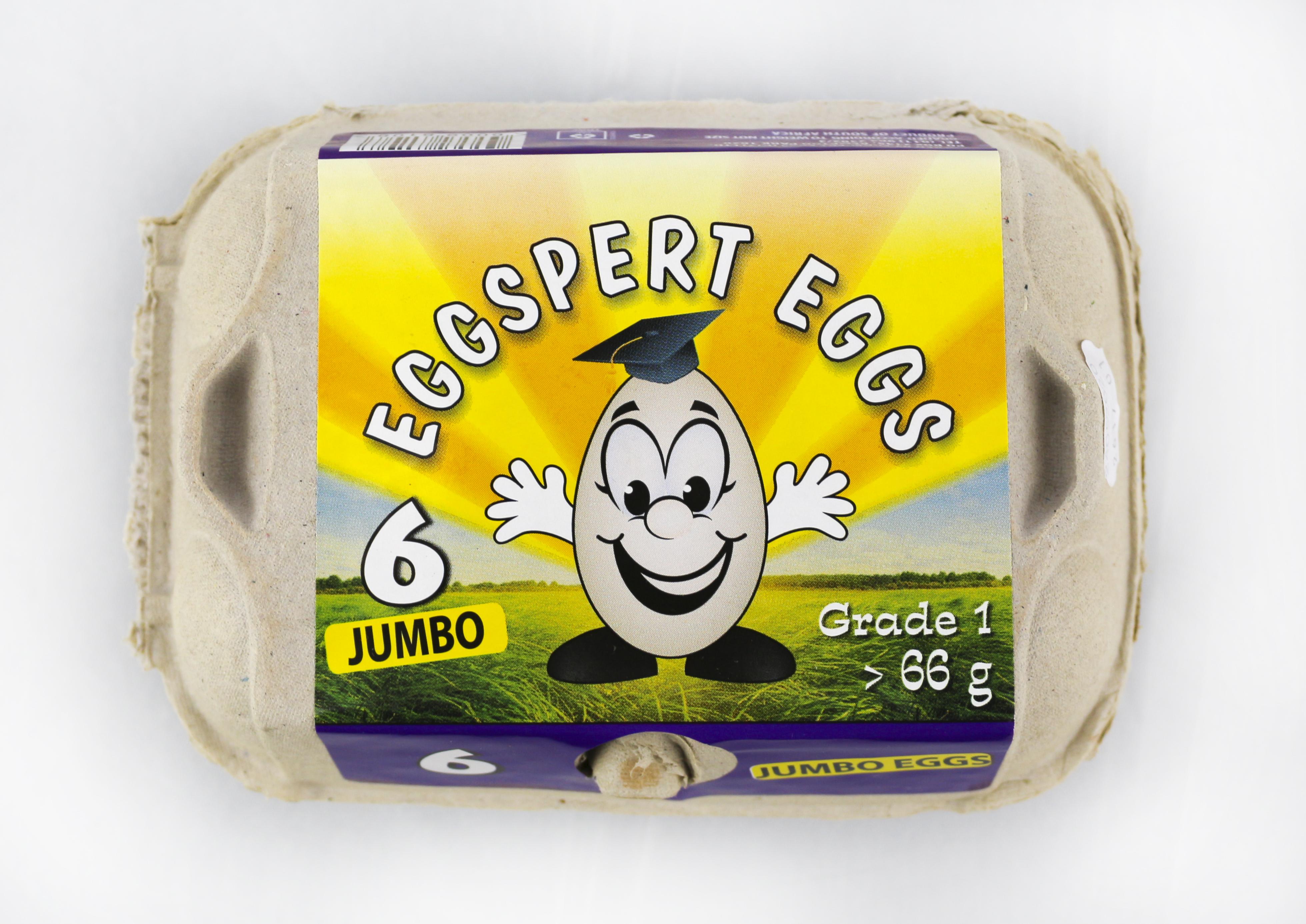 EGGSPERT EGGS JUMBO 6EA