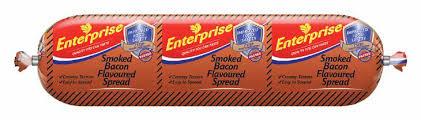 ENTERPRISE SPREAD SMOKED BACON 125GR