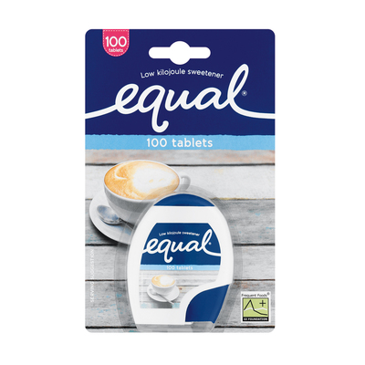 EQUAL LOW KILOJOULE SWEETENER TAB 100EA